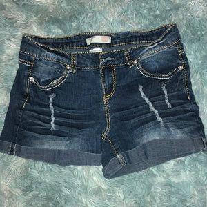 Denim shorts-Size 11
